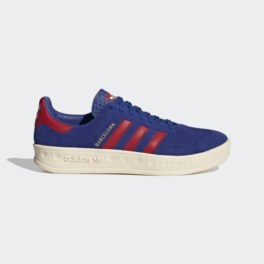 adidas Barcelona Shoes - Blue   adidas UK