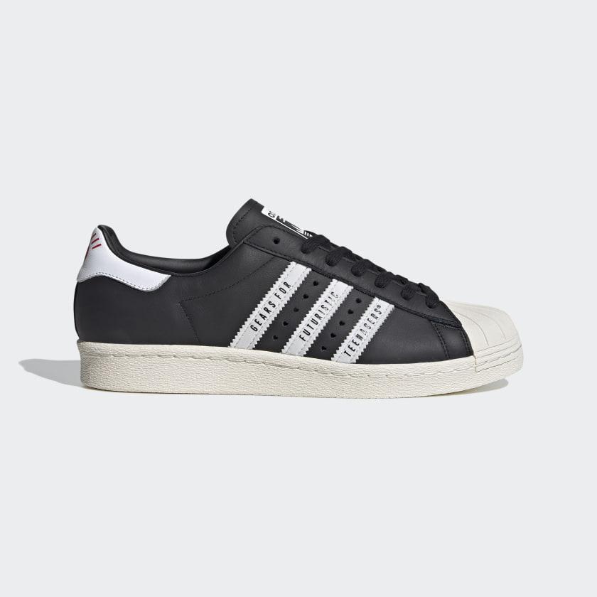 adidas Superstar 80s Human Made Shoes - Black | adidas UK