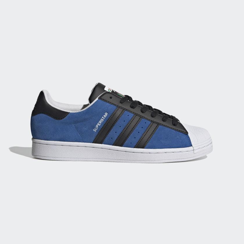 adidas Superstar Shoes - Blue   adidas UK
