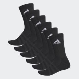 Cushioned Crew Socks 6 Pairs