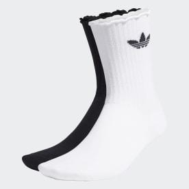 Ruffle Crew Socks 2 Pairs