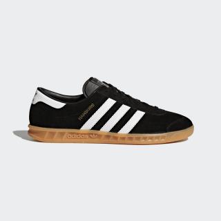 adidas Hamburg Shoes - Black   adidas UK